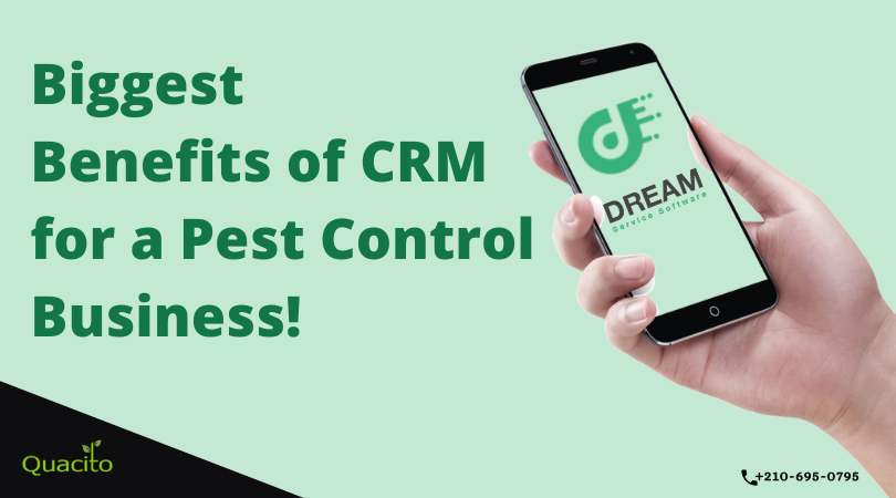 crm solution for pest industry